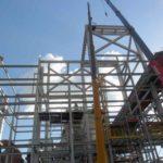 Construção Estrutura metálica Prédio de Moagem – Grupo Tonon Bioenergia