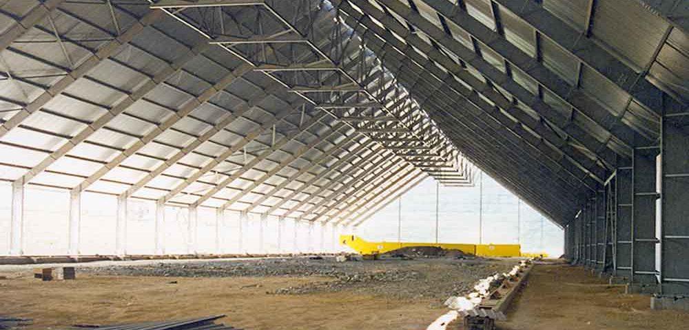 Construção Estrutura Metálica  Cimento e Fertilizantes