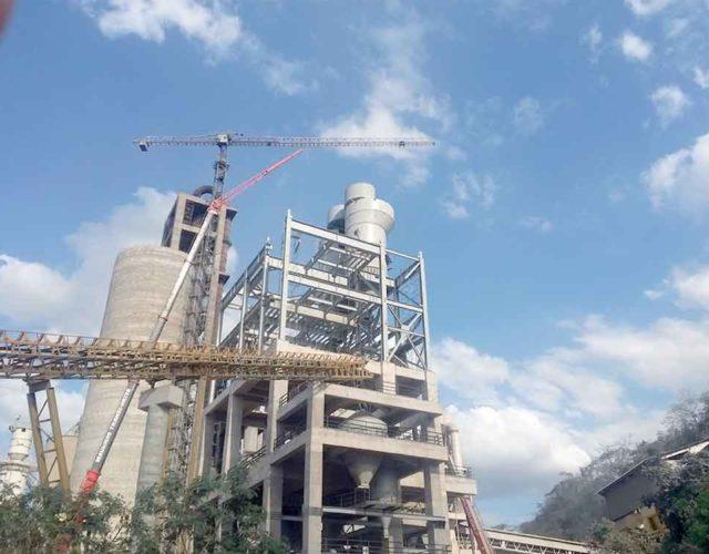 Construção Estrutura Metálica  Cimento e Fertilizantes Prédio de Moagem e Outros - CIPLAN