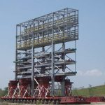 Construção Estrutura metálica Pipe Racks e Prédios Industriais – COMPERJ – Petrobras