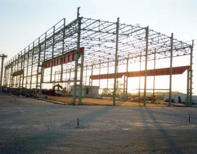 Construção Estrutura metálica Siderurgia, Mineração e Energia Galpão Industrial - Confab