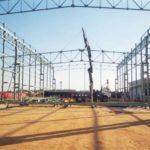 Construção Estrutura metálica Galpão Industrial