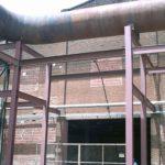 Construção Estrutura metálica Prédios de Caldeiras – Cosan