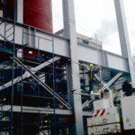 Construção Estrutura metálica Prédio Industrial – FCC