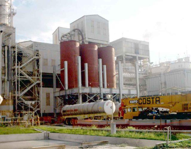 Construção Estrutura metálica  Alimentícia, Química e Automobilística Prédio Industrial - FCC