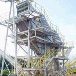 Construção Estrutura metálica Prédio de Equipamentos – SAMARCO