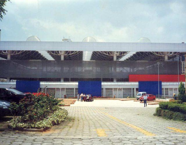 Construção Estrutura Metálica Ginásio Poliesportivo Arquidiocesano
