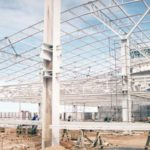 Construção Estrutura metálica Aerporto