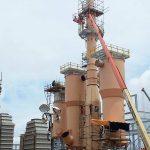 Construção Estrutura metálica Prédios Industriais e Torres de Processo MBAC 8