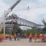 Construção Estrutura metálica  Petróleo Prédio Industrial – RNEST – Petrobras
