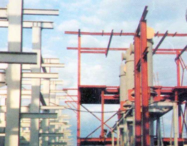 Construção Estrutura metálica Prédios Industriais e Pipe Racks