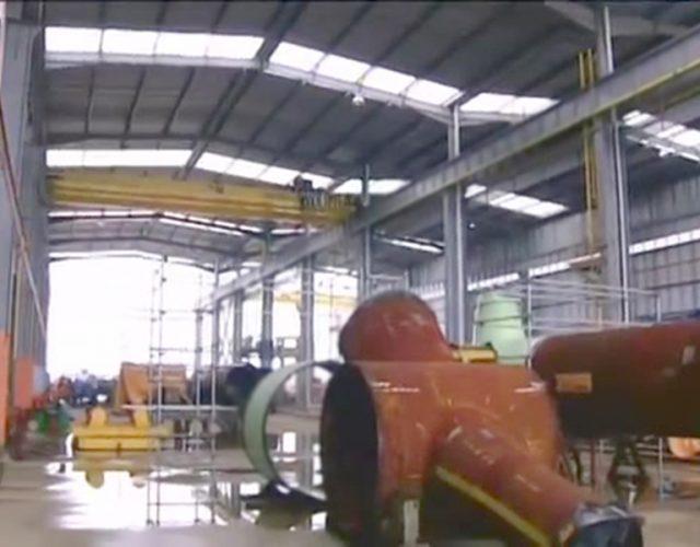 Construção Estrutura metálica  Petróleo, Papel e Celulose Prédios Industriais e Pipe Racks - REPLAN Petrobras