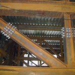 Construção Estrutura metálica Prédio Institucional – Treliças com 86 Toneladas Cada