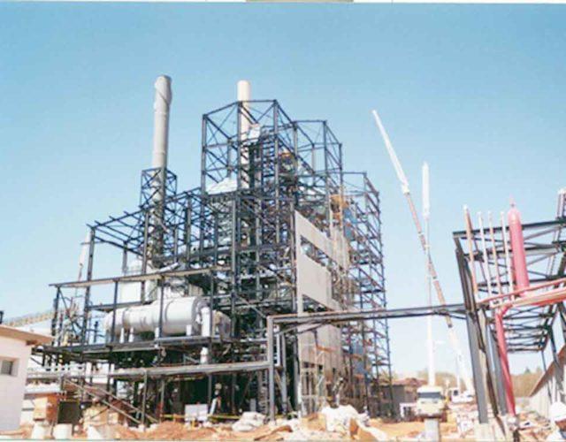Construção Estrutura metálica Cimento e Fertilizantes Edifícios Industriais - Ultrafértil