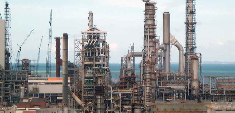 Pipe Racks e Prédio Industriais - Polo Arara - Petrobras Construção Estrutura metálica  Petróleo, Papel e Celulose