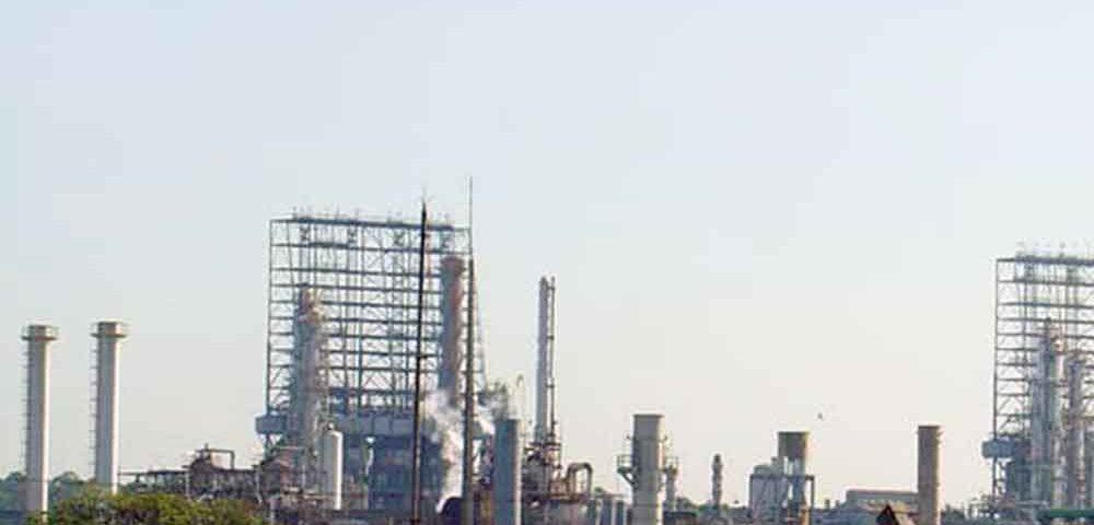 Construção Estrutura metálica  Petróleo, Papel e Celulose Estruturas Coque - REPLAN - Petrobrás