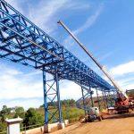 Construção Estrutura metálica Siderurgia, Mineração e Energia Prédio e Pipe Rack – CBMM