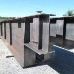 Construção Estrutura metálica Ponte Metálica do Viaduto M. Dias Branco – Fortaleza/CE