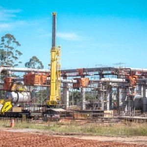 Construção Estrutura metálica Unidade de Tratamento Diesel – REFAP